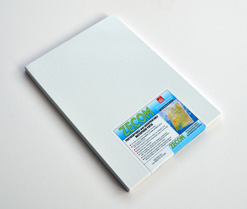 picture relating to Waterproof Printable Labels named A4 Zecom® Blank Laser Printable Water resistant Paper